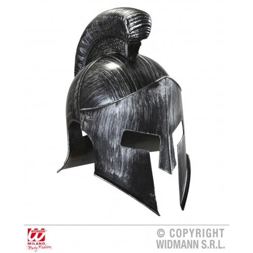 SPARTAN HELMET Hat Accessory for Roman Sparticus Gladiator Ancient Rome Fancy Dr