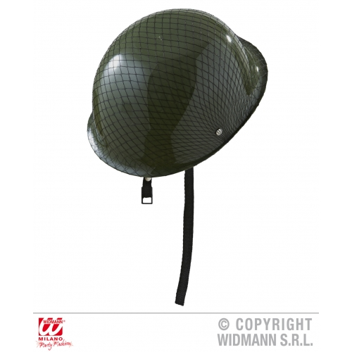 PLATOON SOLDIER HELMET Hat Accessory for Army Military War Squaddie Private Fanc