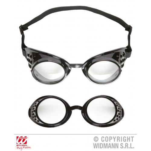 LABORATORY GOGGLES GLASSES Accessory for Scientist Doctor Lab Fancy Dress