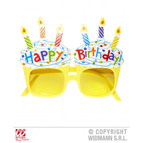 HAPPY BIRTHDAY GLASSES Partyware for Party