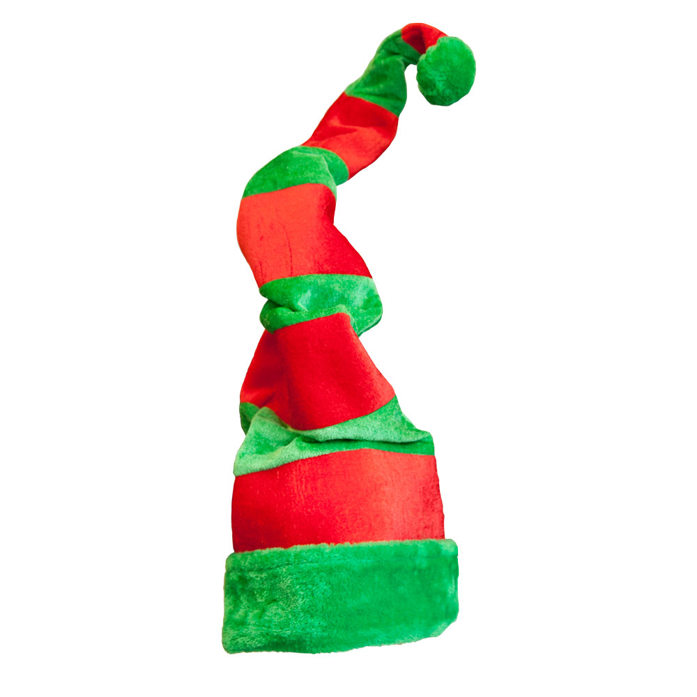 Adults Giant Crazy Elf Hat Adult for Lunatic Madman Nutter Insane Fancy Dress