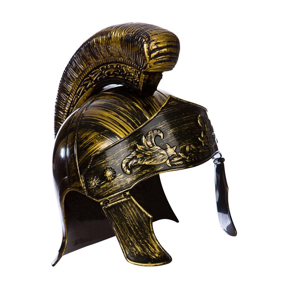 Roman Centurian Helmet Hat for Ancient Rome Greek Latin Fancy Dress