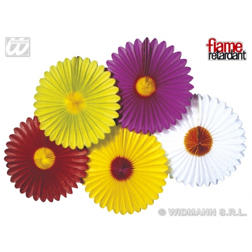 DAISY PAPER FANS FLM RTRDNT Accessory for Fancy Dress