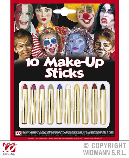MAKEUP CRAYONS 10 SET  SFX for SFX Cosmetics