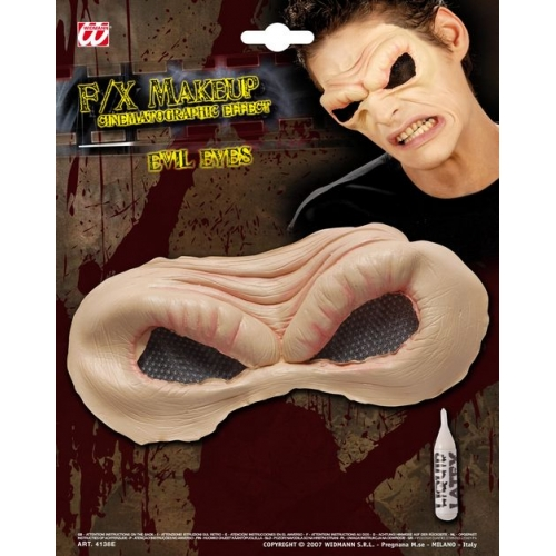 SFX EVIL EYES in professional quality with glue tube SFX for Nasty Wicked Villian Cosmetics