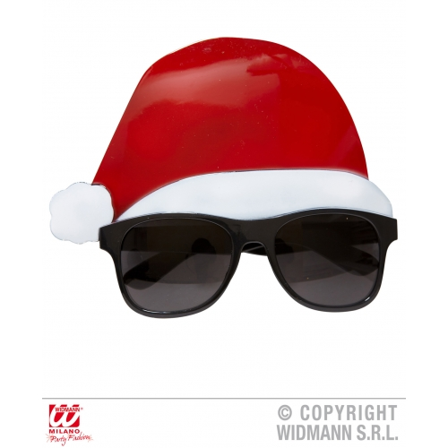 SANTA CLAUS SUNGLASSES Accessory for Father Christmas Fancy Dress