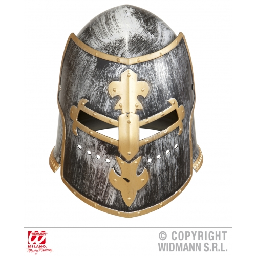 WITH VISOR MEDIEVAL WARRIOR HELMET Hat Accessory for Middle Dark Ages Fancy Dres