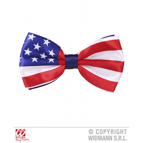 AMERICA BOW TIE Decoration for USA Yanks Americans Party
