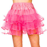 80s Ruffle Tutus Skirt Neon for 80s Disco Pop Retro Fancy Dress