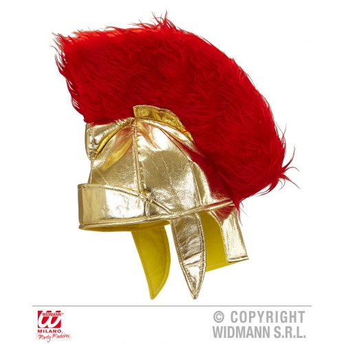ROMAN CENTURION HELMET FABRIC Hat Ancient Rome Greek Latin Fancy Dress
