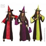 Girls CASTLE WITCH Costume for Fortress Palace Fancy Dress Outfit