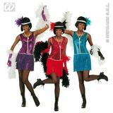 Ladies DELUXE FLAPPER Costume for 20s 30s Gangsters Moll Fancy Dress Outfit