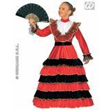 Girls SENORITA Costume for Spain Spanish Latin American Fancy Dress Outfit