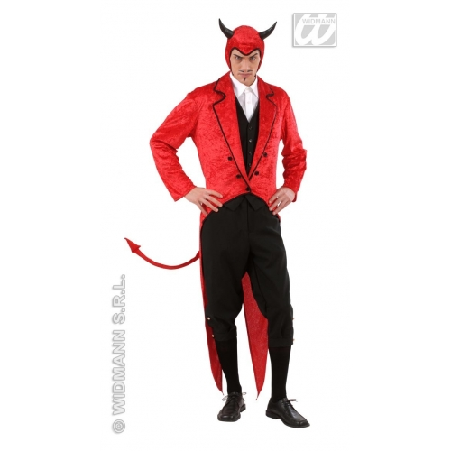 Mens Halloween MR LUIS CIFER Costume for Trick Or Treat Fancy Dress Outfit