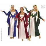 Ladies RENAISSANCE QUEEN Costume Medieval Middle Ages Shakespear Fancy Dress