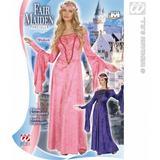 Ladies FAIR MAIDEN VELVET Costume Medieval Princess Queen Lady Fancy Dress
