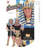 Mens PHARAOH 1 of 2 styles Costume Tutankhamun Egyptian Ancient King Fancy Dress