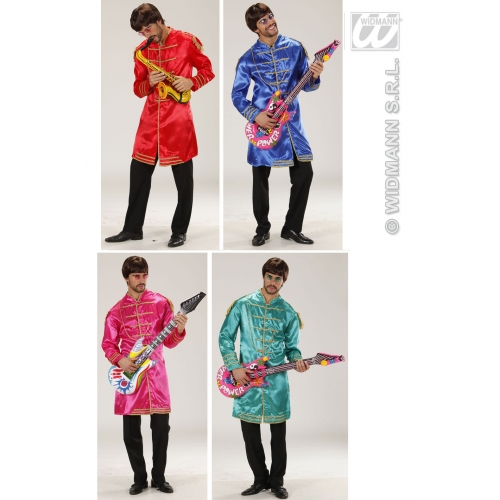Mens 60s MUSIC MAN Costume for 60s Rock n Roll Fancy Dress Outfit