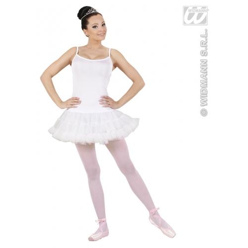Ladies PRIMA BALLERINA WHITE Costume Gymnast Dancer Ballet Fancy Dress