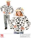 Mens COW Costume for Farm Animal Dairy Nursery Rhyme Fancy Dress Outfit
