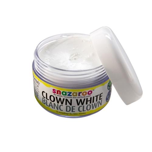 MAKEUP CLOWN WHITE SFX Make-up Make Up Cosmetics