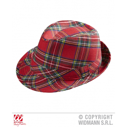 FEDORA Hat Accessory for Scottish Scot Scotland Highland Fancy Dress