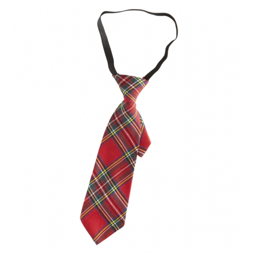 TARTAN TIE Accessory for Scottish Scot Scotland Highland Fancy Dress