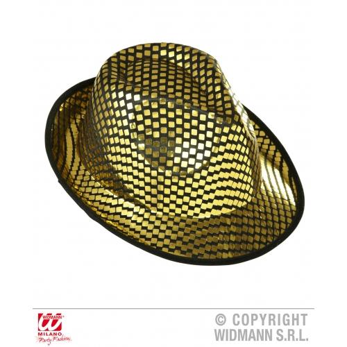 PANAMA FEDORA Hat Accessory for 50s 60s Rockabilly Fancy Dress