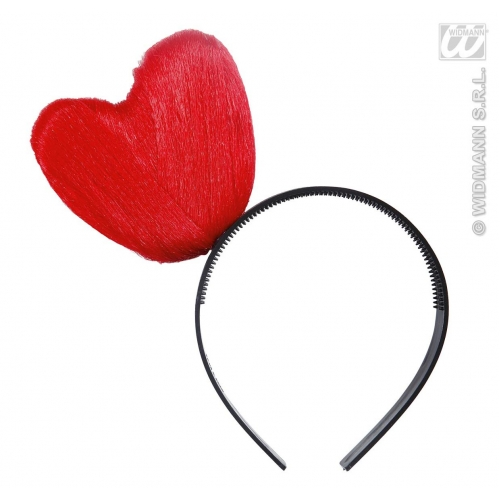 HEART HEADBANDS Accessory for Valentines Love Romance Fancy Dress