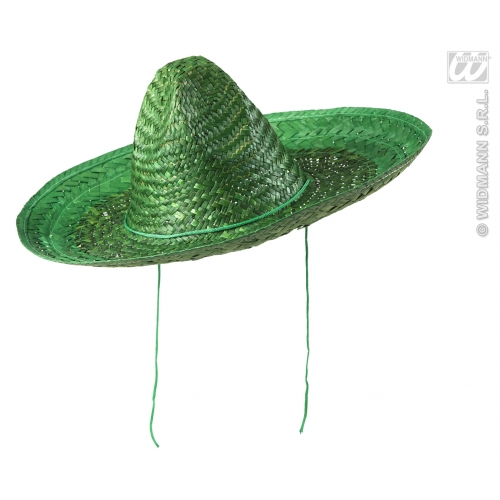 SOMBRERO 48cm Hat Mexico Mexican Wild West Cowboy Bandit Hat Fancy Dress