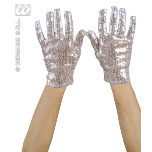 Ladies SEQUIN 40s 50s GLOVES Accessory for 40s WWII Fourties Fancy Dress