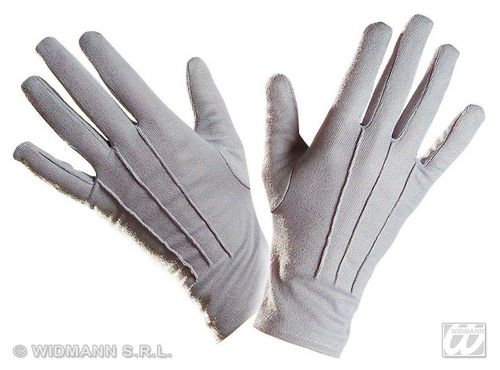 Ladies 40s 50s GLOVES SHORT Accessory for 40s WWII Fourties Fancy Dress