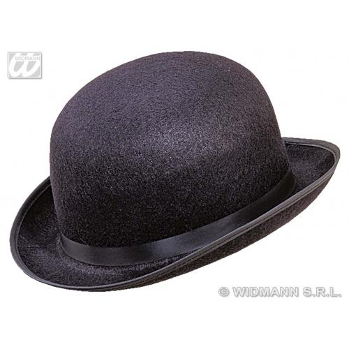 BOWLER BIG FELT Hat Accessory for Laurel hardy Victorian Fancy Dress