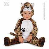 Child Unisex BABY TIGER Costume Indian Jungle Animal Cat Feline Fancy Dress