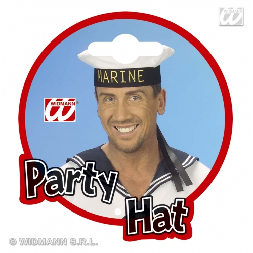 MARINE HAT Accessory for Soldier War Military Fancy Dress
