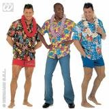Mens HAWAIIAN SHIRT Hawaii Tropical Beach Magnum Five O Fancy Dress