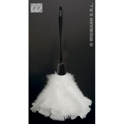 MAID FEATHER DUSTER Accessory for House Cleaner French Vicar & Tarts Fancy Dress
