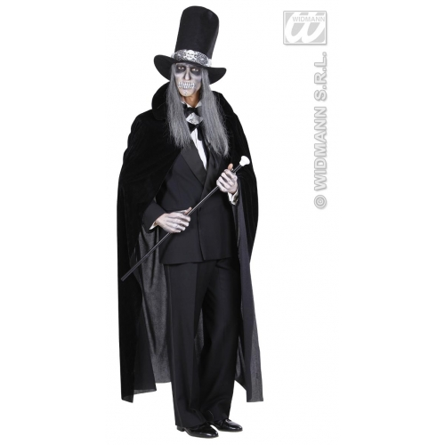 VELVET CAPE Accessory for Superhero Villian Super Hero Fancy Dress
