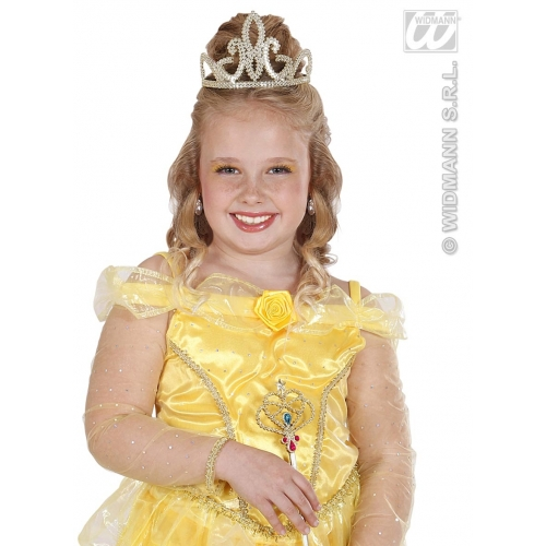 GOLD TIARAS Accessory for Fancy Dress