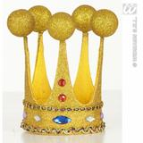 MINI PERFORMER GLITTER CROWNS W/GEMS SFX for Hollywood Show Cosmetics