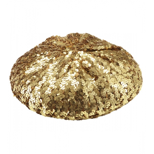 PERFORMER SEQUIN BASCO HAT Accessory for Hollywood Show Fancy Dress