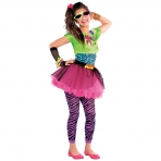 Teen Totally Awesome Costume for 80s Fancy Dress Outfit