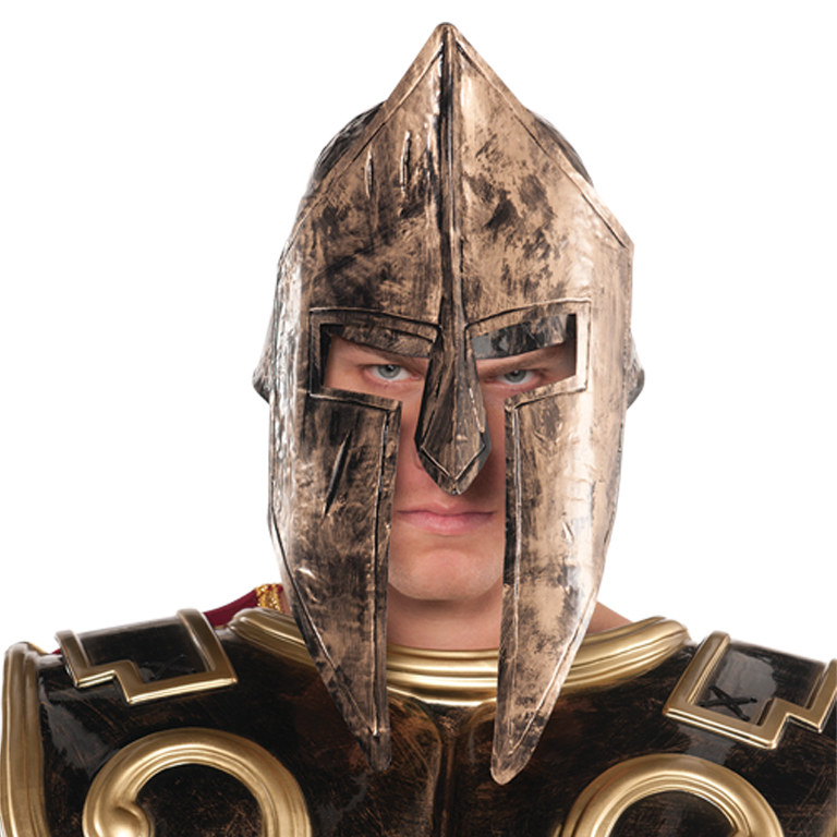 Spartan Helmet Accessory for Roman Gladiator Fancy Dress
