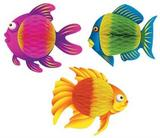 Colour Brite Tropical Fish Party Decoration