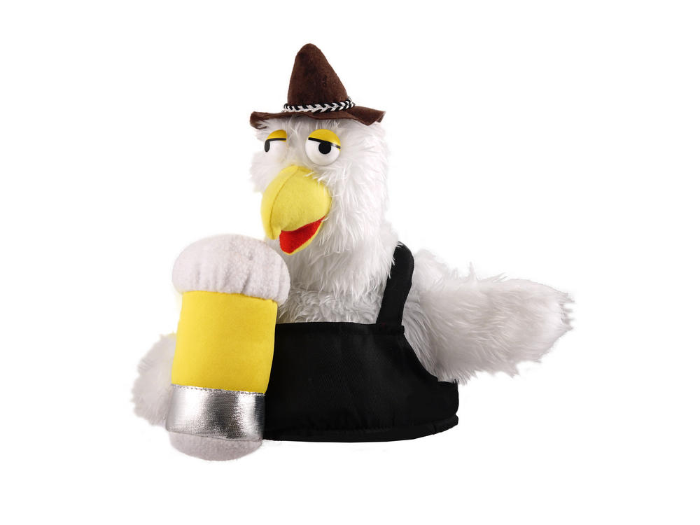 Mens Ladies Bird Beer Hat for German Bavarian Oktoberfest Festival Octoberfest