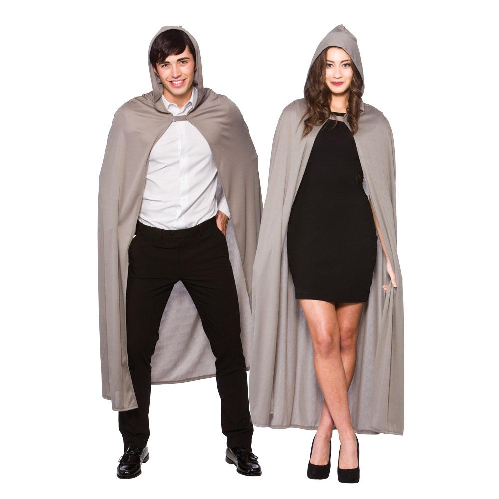 Adults Adult Hooded Cape 132cm for Superhero Villian Super Hero Fancy Dress