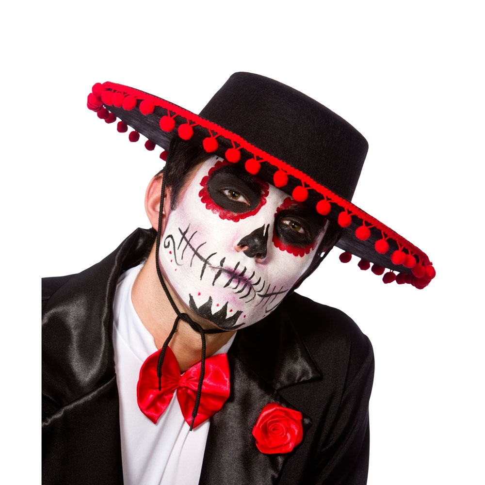 Day Of the Dead Senor Hat for Walking Dead Halloween Zombie Fancy Dress