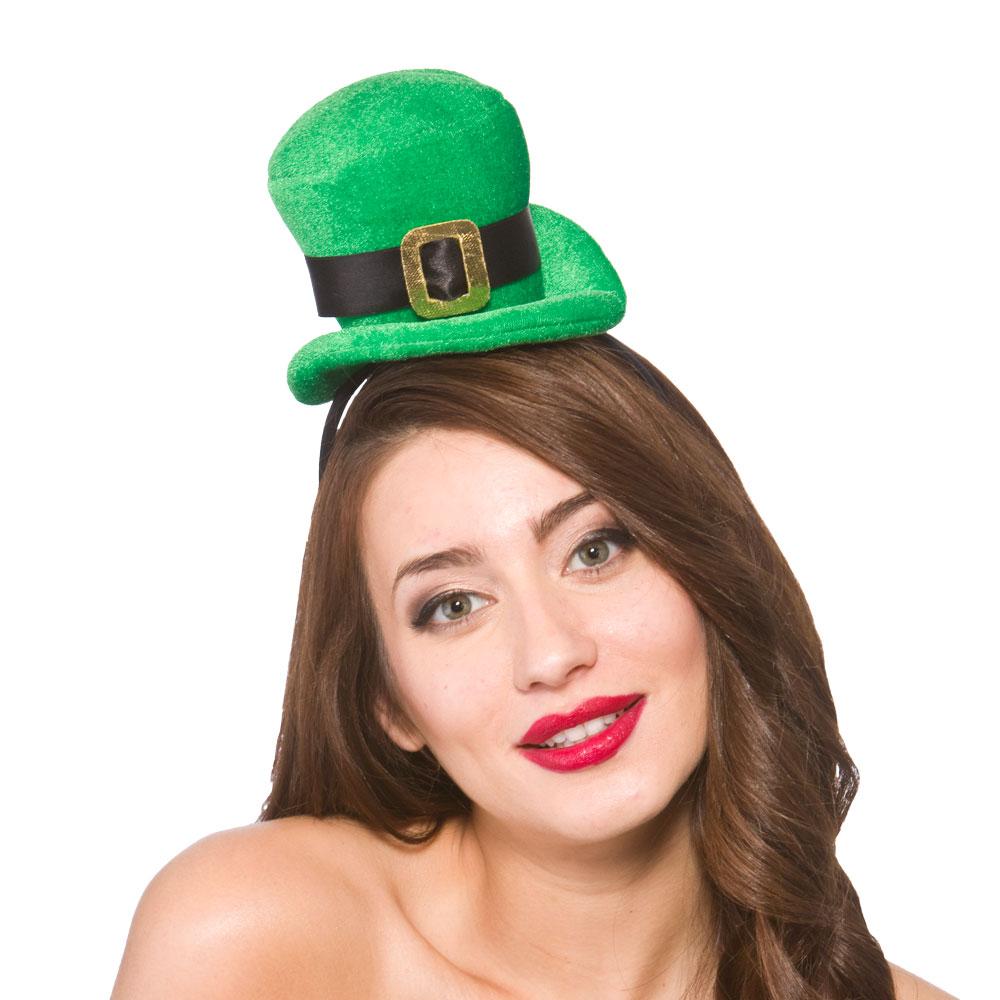 Deluxe Mini Irish Hat for St Patricks Days Ireland Fancy Dress