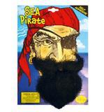 Sea Pirate Beard for Sailor Navy Fancy Dress Accessory