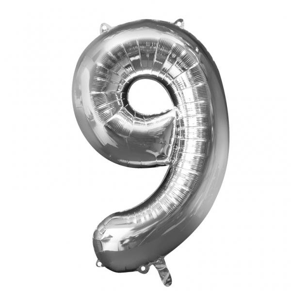 "Foil Number ""9"" Balloon Age Birthday Party Decorations"